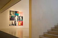 Asie/Israël/Judée/Jérusalem: Musée d'Israël portraits de juifs célébres -Einstein-Warhol