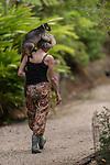 Tree Kangaroo Wildlife Carer