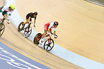 Glasgow 2014 Commonwealth Games<br /> Jon Mould competing in the men's 40km points race final.<br /> Sir Chris Hoy Velodrome<br /> 26.07.14<br /> ©Steve Pope-SPORTINGWALES
