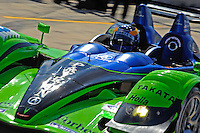 12-15 March 2008, Sebring, Florida, USA.David Brabham heads onto the track to qualify..©F.Peirce Williams 2008, USA .