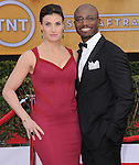 Idina Menzel, Taye Diggs at 19th Annual Screen Actors Guild Awards® at the Shrine Auditorium in Los Angeles, California on January 27,2013                                                                   Copyright 2013 Hollywood Press Agency