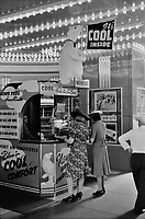 A Movie theatre in Chicago, Illinois, July 1940.<br /> <br /> Photo by John Vachon.