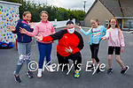 Dancing up a storm at their funday in Listellick NS on Friday. L to r: Sophie Culloty, Mia Molloy, Padraig O'Mahoney, Megan Gaynor and Leah Sutton.