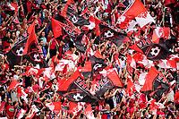 Supporters des Herbiers - ambiance <br /> Parigi 08-05-2018 Stade de France <br /> Calcio Finale Coppa di Francia <br /> Les Herbiers - Paris Saint Germain <br /> Foto Panoramic/insidefoto