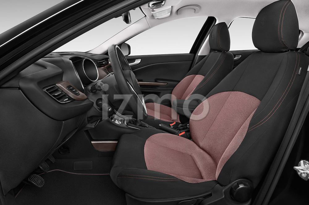 Front seat view of 2015 Alfa Romeo Giulietta Distictive 5 Door SUV front seat car photos
