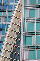 Modern Architecture of Office Building on Orchard Road, Singapore.