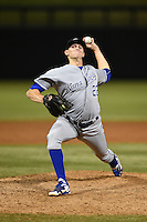 Peoria Javelinas pitcher Sam Selman (22) during an Arizona Fall League game against the Salt River Rafters on October 17, 2014 at Salt River Fields at Talking Stick in Scottsdale, Arizona.  The game ended in a 3-3 tie.  (Mike Janes/Four Seam Images)