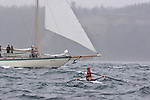 Open water racing, North American Open Water Championship, racing, competition, Port Townsend, Washington State, Pacific Northwest, Puget Sound, USA, Diane Davis, 37, South End Rowing Club, W OW II, Maas 24,