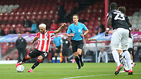 Said Benrahma of Brentford takes a shot at the Charlton goal during Brentford vs Charlton Athletic, Sky Bet EFL Championship Football at Griffin Park on 7th July 2020