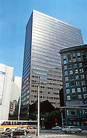 Boston:  100 Summer Street--Welton Becket & Assoc.  1974.  32  Photo '88. story high-rise office building in downtown Boston.  Phoro '88.
