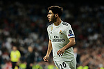 Real Madrid's Marco Asensio during UEFA Champions League match between Real Madrid and FC Viktoria Plzen at Santiago Bernabeu Stadium in Madrid, Spain. October 23, 2018. (ALTERPHOTOS/A. Perez Meca)