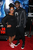 """LOS ANGELES, CA, USA - APRIL 16: Keisha Spivey, Omar Epps at the Los Angeles Premiere Of Open Road Films' """"A Haunted House 2"""" held at Regal Cinemas L.A. Live on April 16, 2014 in Los Angeles, California, United States. (Photo by Xavier Collin/Celebrity Monitor)"""