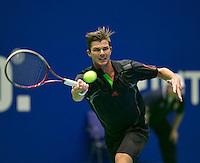 20-12-13,Netherlands, Rotterdam,  Topsportcentrum, Tennis Masters, Antal van der Duim(NED)<br /> Photo: Henk Koster