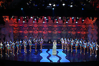 SAO PAULO, SP, 09.08.2014 - MISS SAO PAULO - Candidatasa Miss Sao Paulo durante Miss Sao Paulo no Auditorio do Anhembi na região norte da cidades e Sao Paulo na noite deste sábado, 09. (Foto: Vanessa Carvalho / Brazil Photo Press).