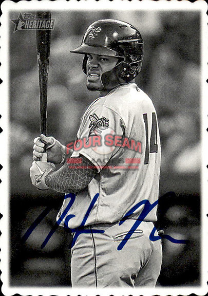 Photography is (c) Copyright: Tom Priddy/Four Seam Images. Card designs are copyright of the indivudual manufacturing companies, including but not limited to Topps, Bowman, Just Minors, Prizm and others.