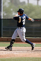 Mat Gamel -  Milwaukee Brewers - 2009 spring training.Photo by:  Bill Mitchell/Four Seam Images