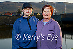Enjoying a stroll in Blennerville on Tuesday evening, l to r: Chelsea and Ann Marie Winter