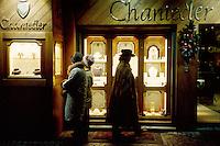 - Cortina d'Ampezzo, luxury shops....- Cortina d'Ampezzo, negozi di lusso