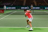 Rotterdam, The Netherlands, 18 Februari, 2018, ABNAMRO World Tennis Tournament, Ahoy, Roger Federer (SUI)<br /> <br /> Photo: www.tennisimages.com