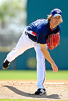 18 March 2007: Washington Nationals pitcher John Patterson on the mound against the Florida Marlins at Space Coast Stadium in Viera, Florida...Mandatory Photo Credit: Ed Wolfstein Photo