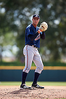 Atlanta Braves pitcher Kyle Muller (19) during an Instructional League game against the Washington Nationals on September 30, 2016 at Space Coast Stadium in Melbourne, Florida.  (Mike Janes/Four Seam Images)