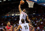 02.09.2010, Abdi Ipekci Arena, Istanbul, TUR, 2010 FIBA World Championship, USA vs Tunisia, Im Bild Russel Westbrook of USA during  the Preliminary Round - Group B basketball match between National teams of USA and Tunisia. EXPA Pictures © 2010, PhotoCredit: EXPA/ Sportida/ Vid Ponikvar *** ATTENTION *** SLOVENIA OUT!
