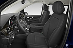 Front seat view of 2021 Mercedes Benz EQV - 5 Door Passanger Van Front Seat  car photos