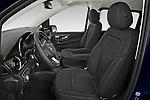 Front seat view of 2021 Mercedes Benz EQV - 5 Door Passanger Van Front Seat  car photos
