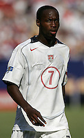 July 24, 2005: East Rutherford, NJ, USA:  USMNT DaMarcus Beasley (7) looks for the ball during the CONCACAF Gold Cup Finals at Giants Stadium.  The USMNT won 3-1 on penalty kicks.