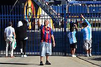 Foxborough, MA - Saturday June 18, 2016: Fans prior to a Copa America Centenario quarterfinal match between Argentina (ARG) and Venezuela (VEN)  at Gillette Stadium.