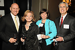From left: Bob Conrad, Chanda Cashen, Kathy Sauve and Paul Weeditz at the Heart Ball kickoff party at the Hotel ZaZa Wednesday Jan. 13,2010.(Dave Rossman/For the Chronicle)