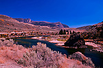 The short Similkameen River is famous as prospecting country and dotted with abandoned mine shafts.  Joining the Okanogan River near Oroville, Washington which has an annual prospecting festival.