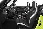 Front seat view of 2021 MINI MINI Cooper-S-JCW 2 Door Convertible Front Seat  car photos