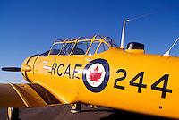 Harvard Mark II on Static Display - at Abbotsford International Airshow, BC, British Columbia, Canada