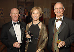 From left: Dave and Wanda Fleming with Stan Goss at the Houston Achievement Place Gala at the Westin Galleria Hotel Thursday Dec. 03,2009. (Dave Rossman/For the Chronicle)