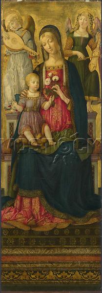 Full title: The Virgin and Child<br /> Artist: Benvenuto di Giovanni<br /> Date made: 1479