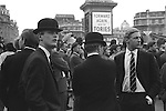 Trafalgar Square, London. 1969<br />