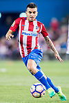 Angel Correa of Atletico de Madrid in action during their La Liga match between Atletico de Madrid vs Real Sociedad at the Vicente Calderon Stadium on 04 April 2017 in Madrid, Spain. Photo by Diego Gonzalez Souto / Power Sport Images