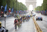 Thomas De Gendt (BEL/Lotto-Soudal) in his favourite position: up front!<br /> <br /> Final stage 21 - Chantilly › Paris/Champs Elysées (113km)<br /> 103rd Tour de France 2016