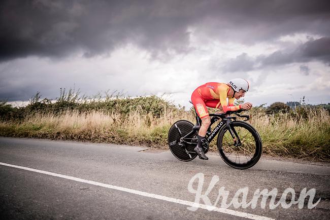 Nicolas Jonathan Castroviejo (ESP/Ineos)<br /> Elite Men Individual Time Trial<br /> from Northhallerton to Harrogate (54km)<br /> <br /> 2019 Road World Championships Yorkshire (GBR)<br /> <br /> ©kramon