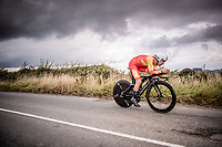Nicolas Jonathan Castroviejo (ESP/Ineos)<br /> Elite Men Individual Time Trial<br /> from Northhallerton to Harrogate (54km)<br /> <br /> 2019 Road World Championships Yorkshire (GBR)<br /> <br /> ©kramon
