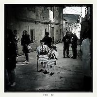 Entroido Carnival. Laza, Ourense. Spain 2012