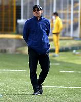 BOGOTA - COLOMBIA, 03-10-2020: Bogota F.C. y Orsomarso S. C., durante partido por la fecha 10 del Torneo BetPlay DIMAYOR I 2020 jugado en el estadio Metropolitano de Techo  en la ciudad de Bogota. / Bogota F.C. y Orsomarso S. C., during a match for the 10th date of the BetPlay DIMAYOR I 2020 tournament played at the Metropolitano de Techo de stadium in Bogota city. / Photo: VizzorImage / Daniel Garzon / Cont.