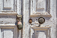 Door knocker on Kastellorizo, Greece