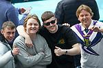 22.06.2021 Croatia v Scotland: Lewis Capaldi and pals