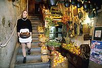- Courmayeur, tourist resort, the typical restaurant Maison de Philippe....- Courmayeur, località turistica, ristorante tipico La Maison de Philippe