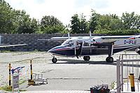 FLN Linienmaschine auf dem Flughafen von Wangerooge - Wangerooge 20.07.2020: Flug nach Wangerooge