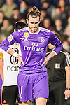 Gareth Bale of Real Madrid reacts during their La Liga match between Valencia CF and Real Madrid at the Estadio de Mestalla on 22 February 2017 in Valencia, Spain. Photo by Maria Jose Segovia Carmona / Power Sport Images