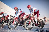 Stage 1 (TTT): Salinas de Torrevieja to Torrevieja (13.4km)<br /> La Vuelta 2019<br /> <br /> ©kramon