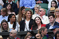 10th July 2021. Wilmbledon, SW London England. Wimbledon Tennis Championships 2021, Ladies singles final Ashleigh Barty versus  Karolina Pliskova (Czech);  Novak Djokovic (Ser)